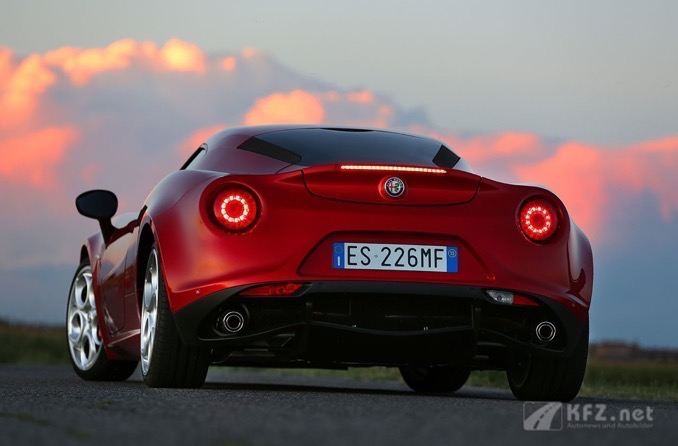 Alfa Romeo 4C Back-Lights