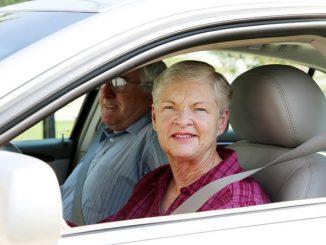 Alte Autofahrer