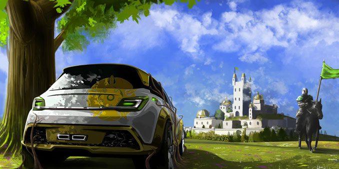 Bild Opel Adam aus dem Haus Tyrell