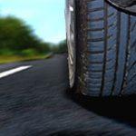 Reifenplatzer auf der Autobahn