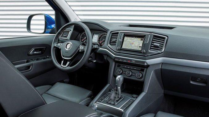 Foto: VW Amarok Innenraum