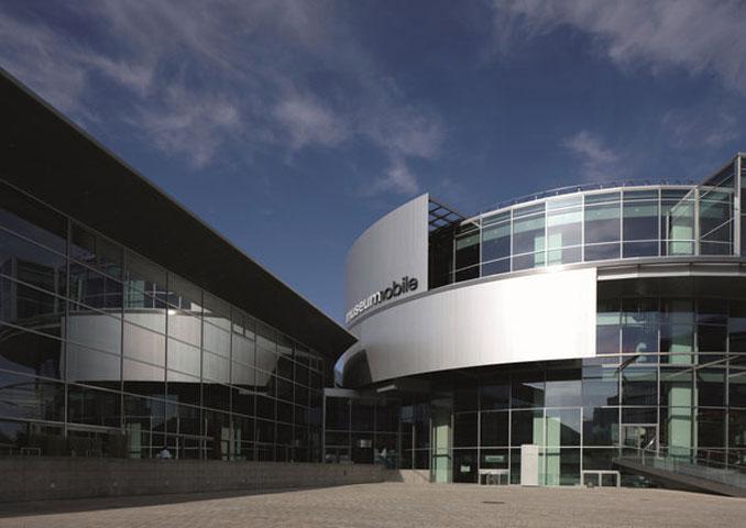 Foto vom Audi MUseum Ingolstadt