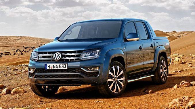 Foto VW Amarok Front
