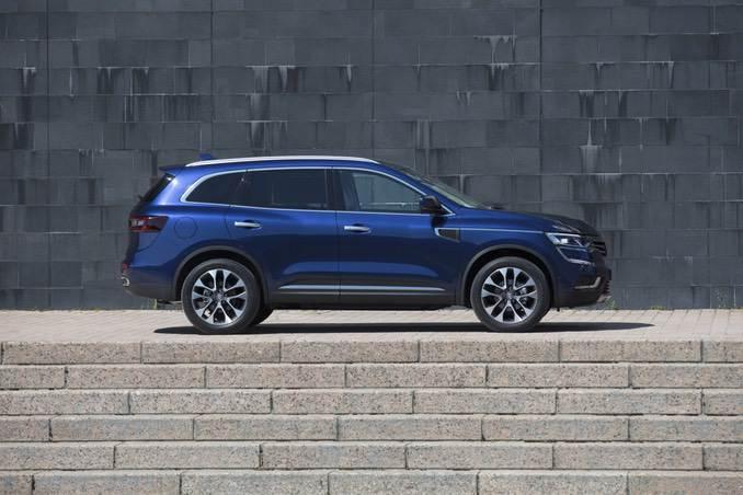 Foto: Renault Koleos Seitenansicht