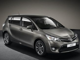 Foto: Toyota Verso Front