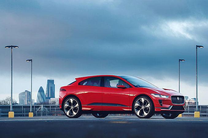 Foto: Jaguar I-Pace Seitenansicht
