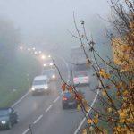 Verkehr auf einer nebligen Straße. Foto Dekra