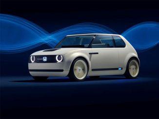 Honda Urban Concept Elektroauto