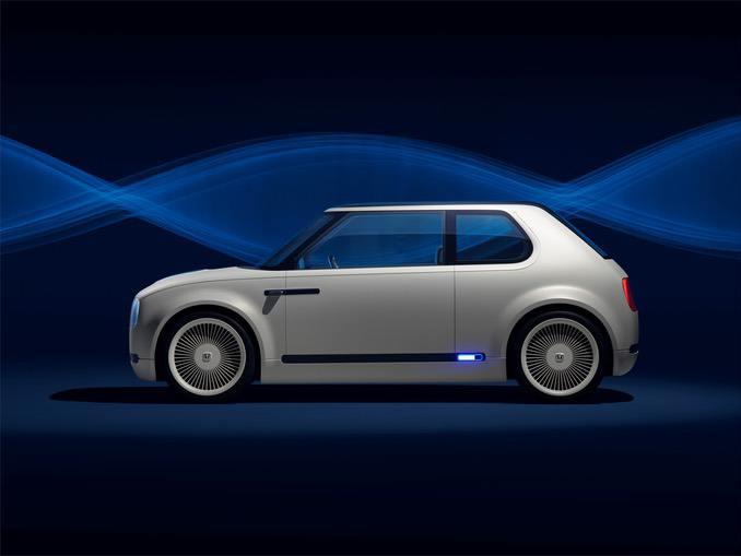 Honda Urban Concept mit Ladestand