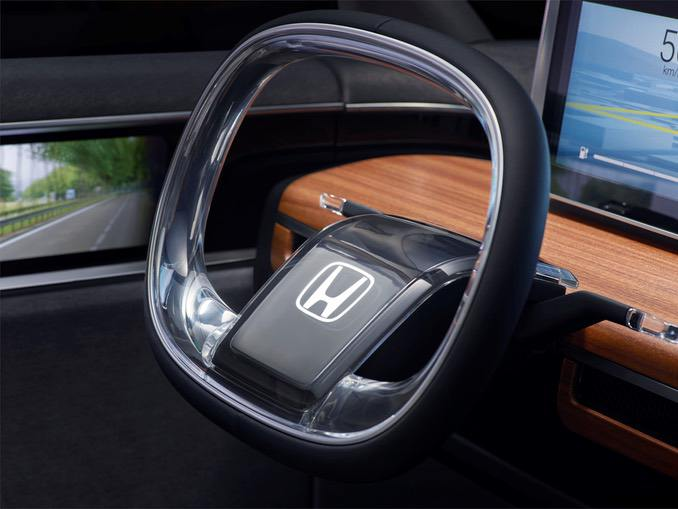 Honda Urban Concept Lenkrad