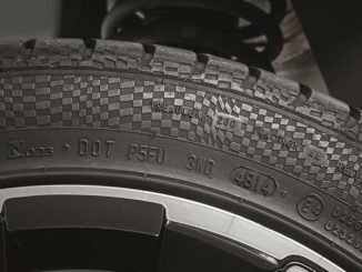 Bild vom alten Reifen