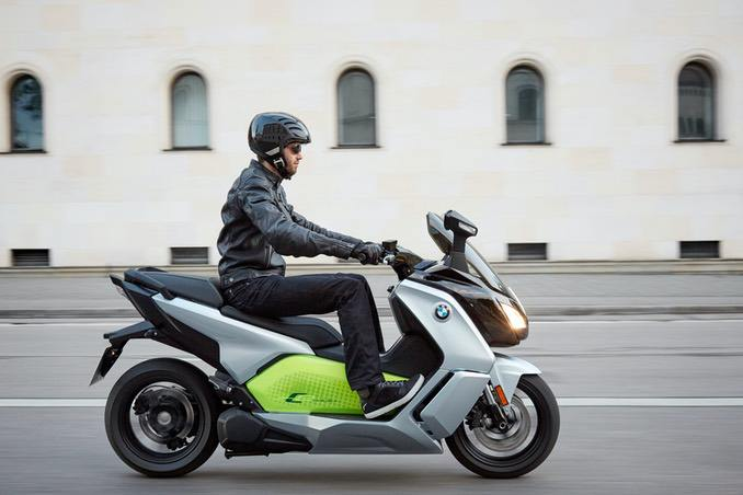 BMW C-Evolution E-Scooter
