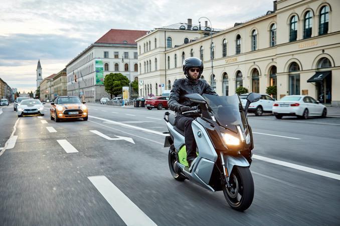 BMW Elektro City-Roller