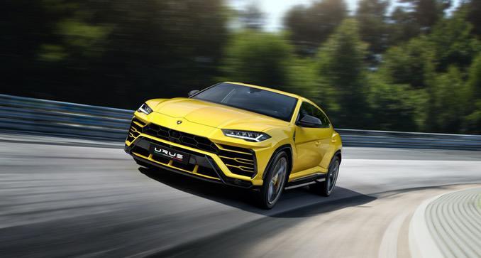 Lamborghini Urus Gelb