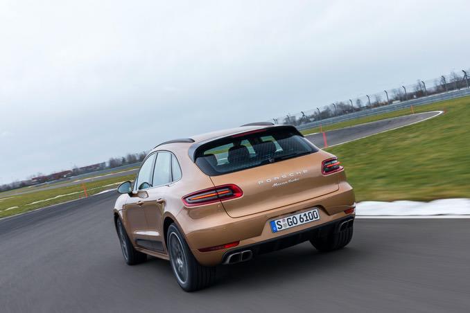 Porsche Macan Heckansicht
