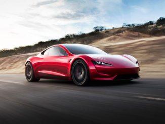 Tesla Roadster Bild der zweiten Generation