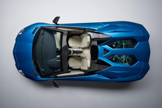 Lamborghini Aventador Roadster Top