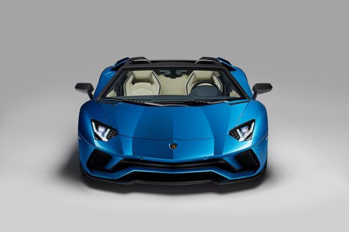 Lamborghini Aventador Front