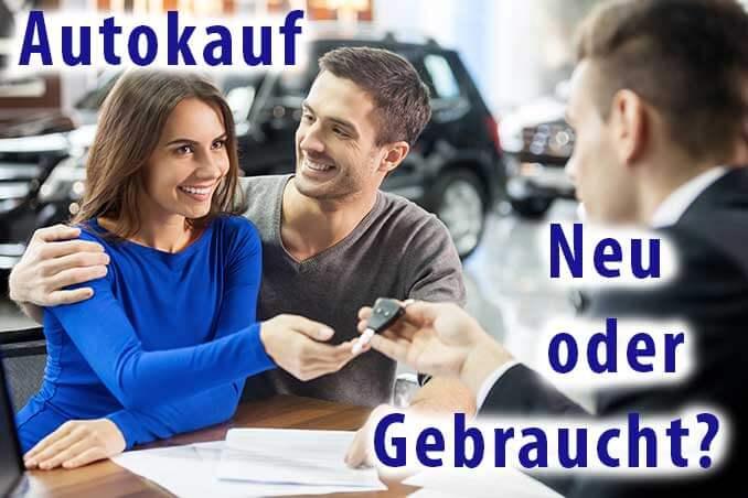 Neuwagen oder gebraucht Teaser