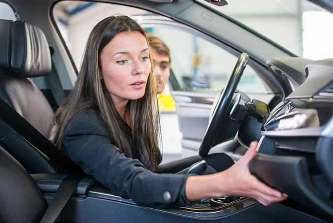 Autoprüfung vor dem Kauf.