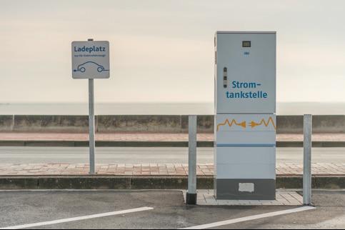 Elektro-Ladesäule für eAutos