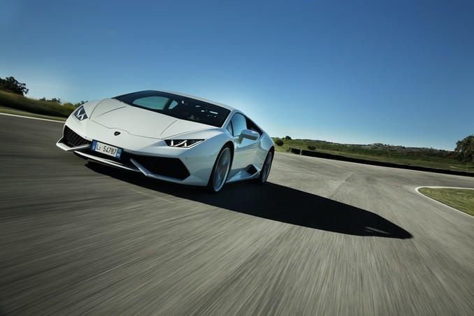 Lamborghini Huracan weiss