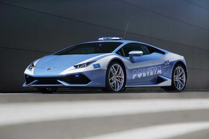 Huracán LP 610-4 Polizia Sonderedition