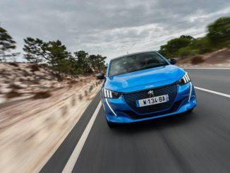 Peugeot 208 Blau