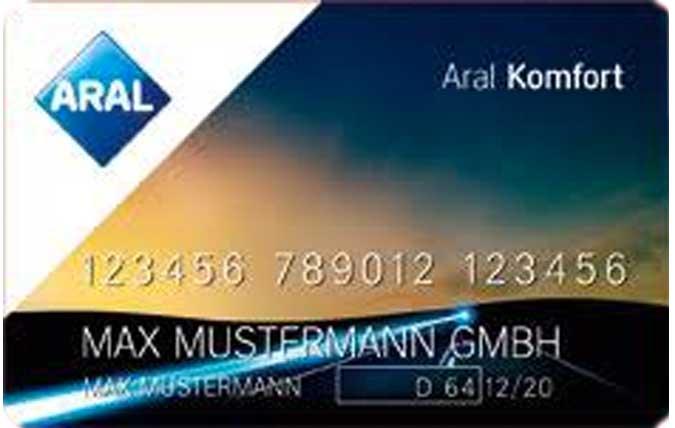 Bild: Aral Komfort Tankkarte