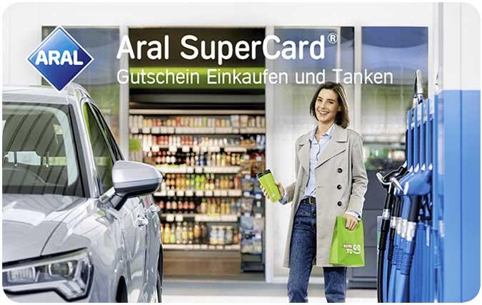 ARAL Supercard Gutschein