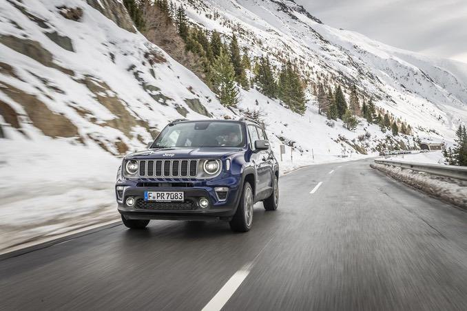 Foto: Jeep Renegade in Blau