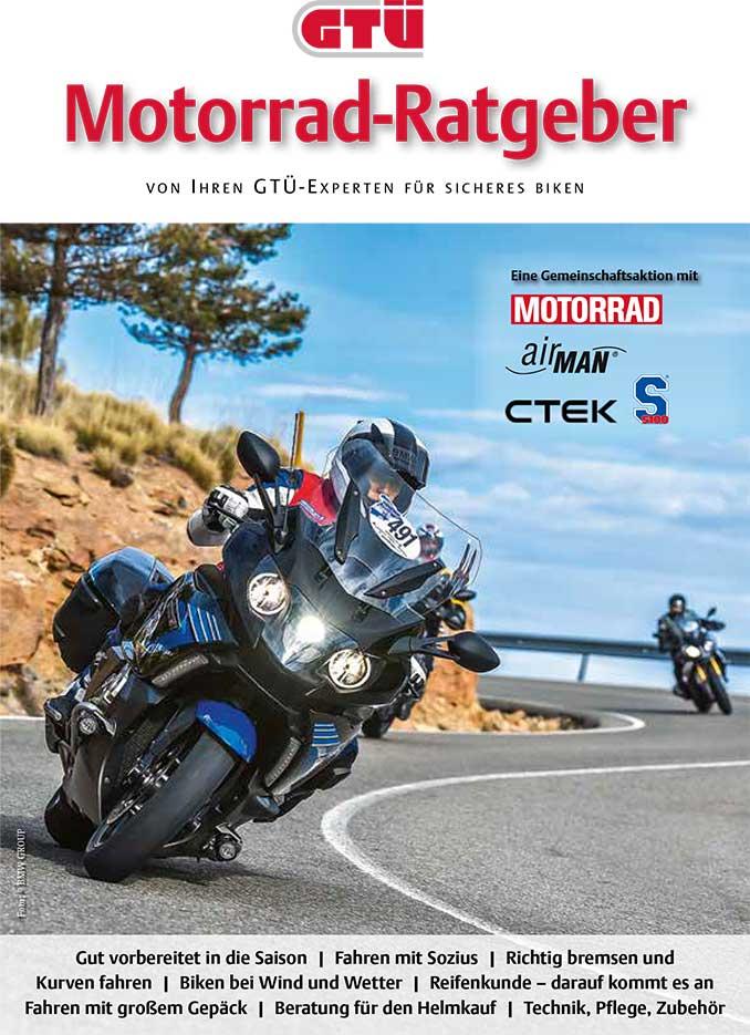 GTÜ Motorrad-Ratgeber als PDF