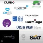 Logos der Autoanbieter