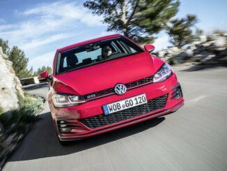 VW GTI rot