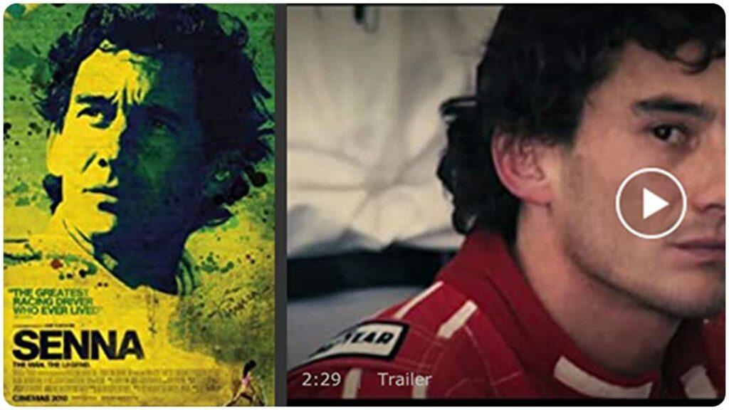 Dokumentation über den Rennfahrer Senna