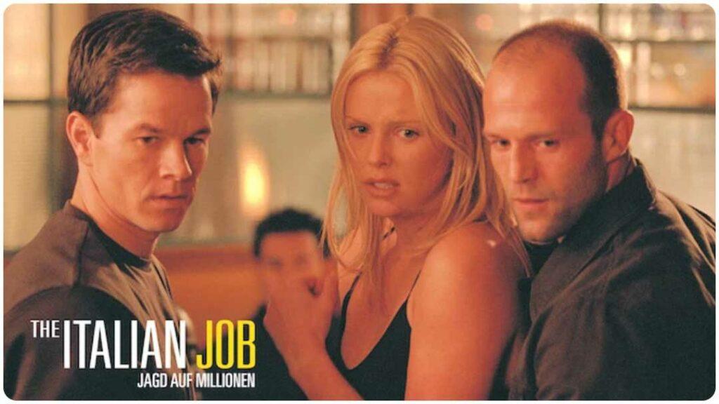 The Italian Job. Autofilm, Jagd auf die Millionen