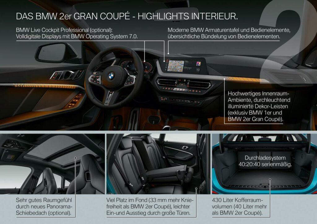 BMW 2er Interieur