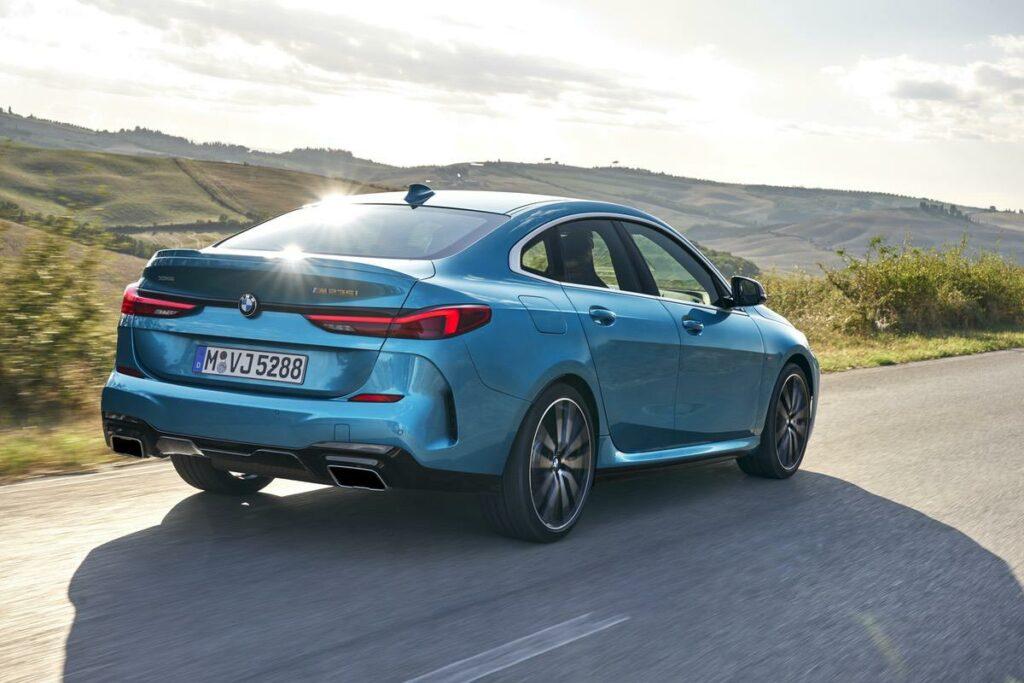 BMW 2er Heckansicht