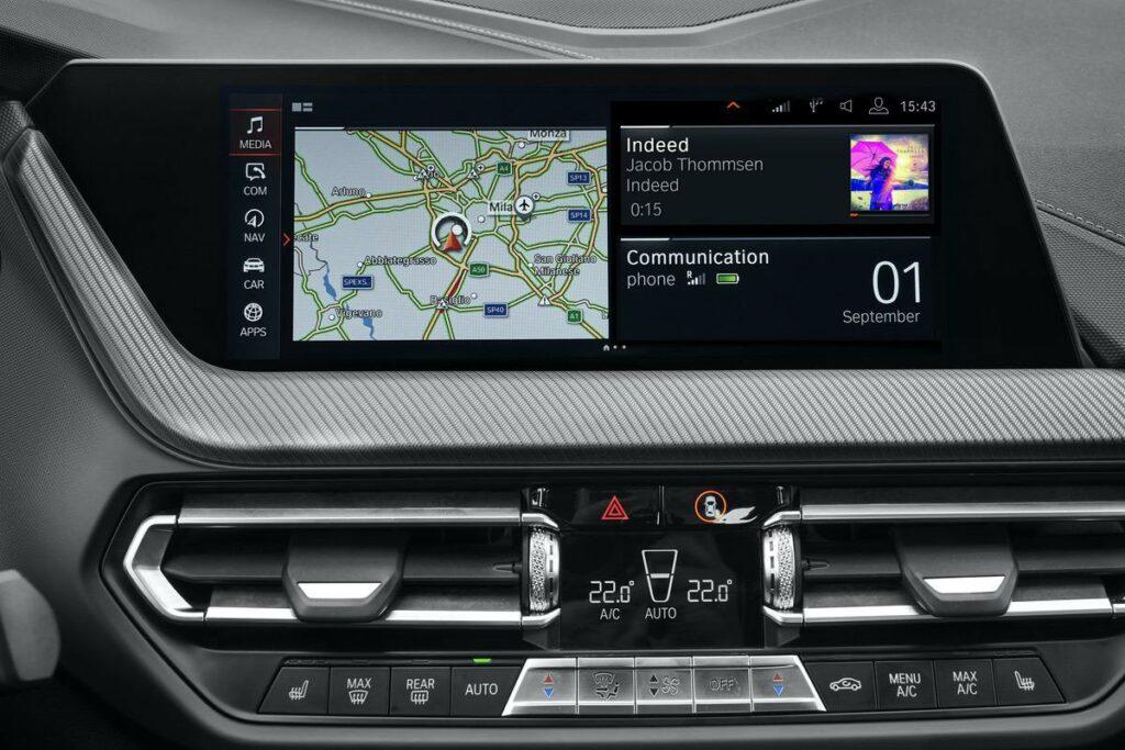 BMW 2er Navigationssystem