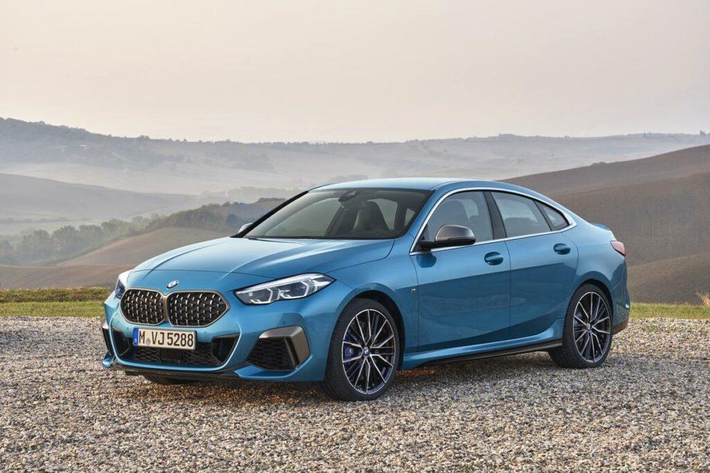 BMW 2er Seitenansicht