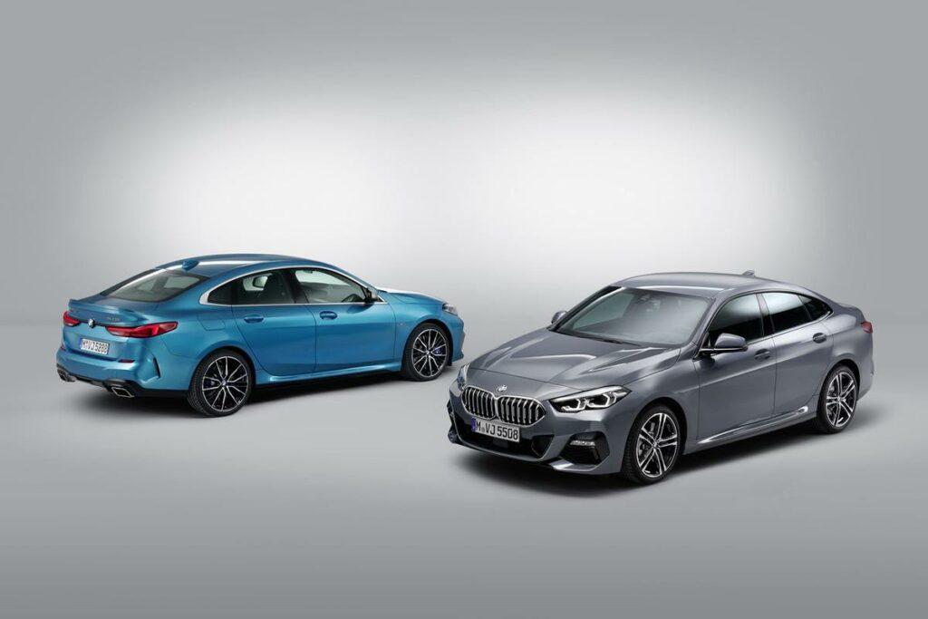 BMW 2er Grau & Blau