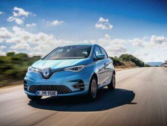 Renault ZOE Frontansicht