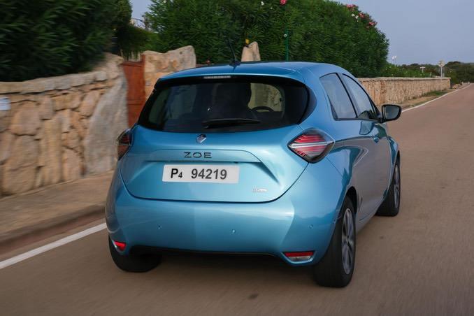 Renault ZOE Heckansicht