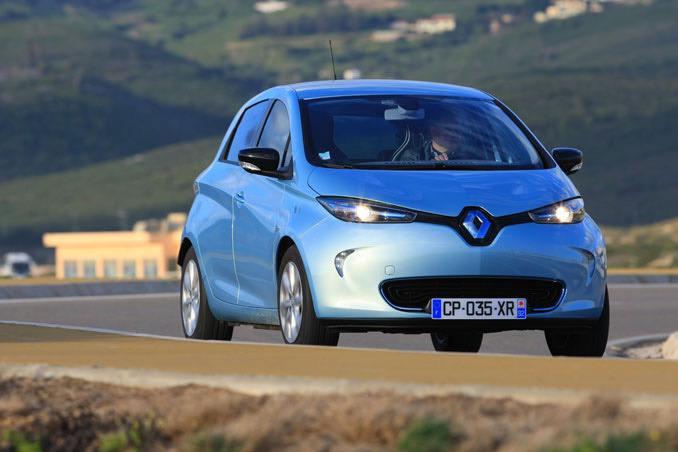 Renault ZOE Frontview