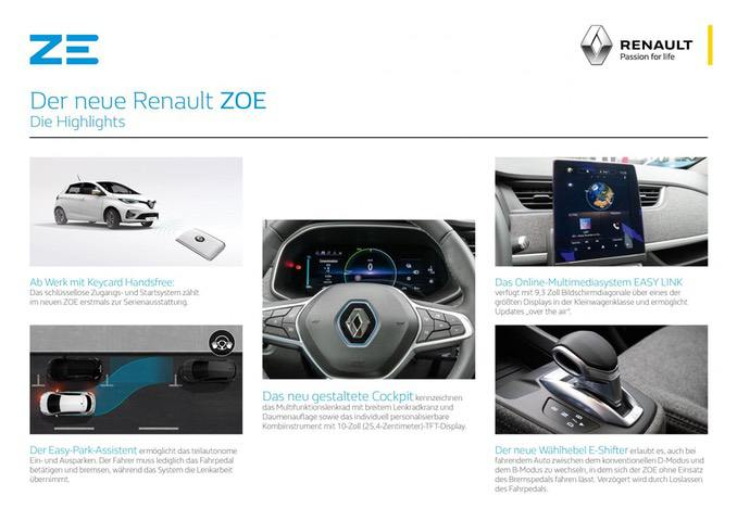 Renault ZOE Highlights