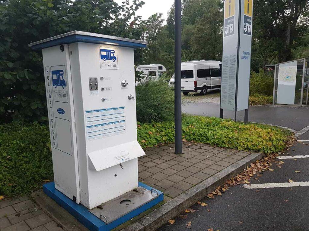 Wohnmobil Womo Entsorgungssäule