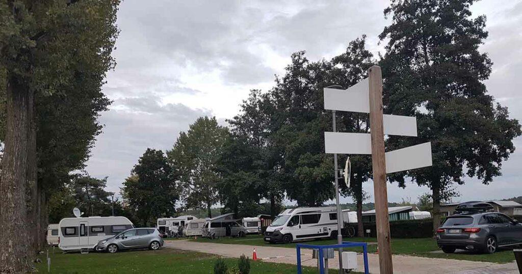 Caravan Stellplatz