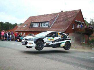 Foto: Auto springt bei der DRM