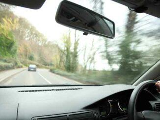 Autofahrer im Linksverkehr