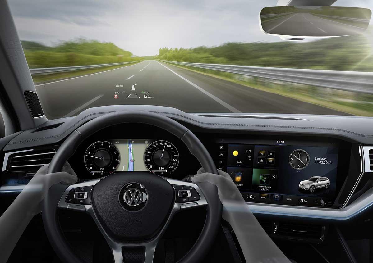 Head-up-display von Volkswagen